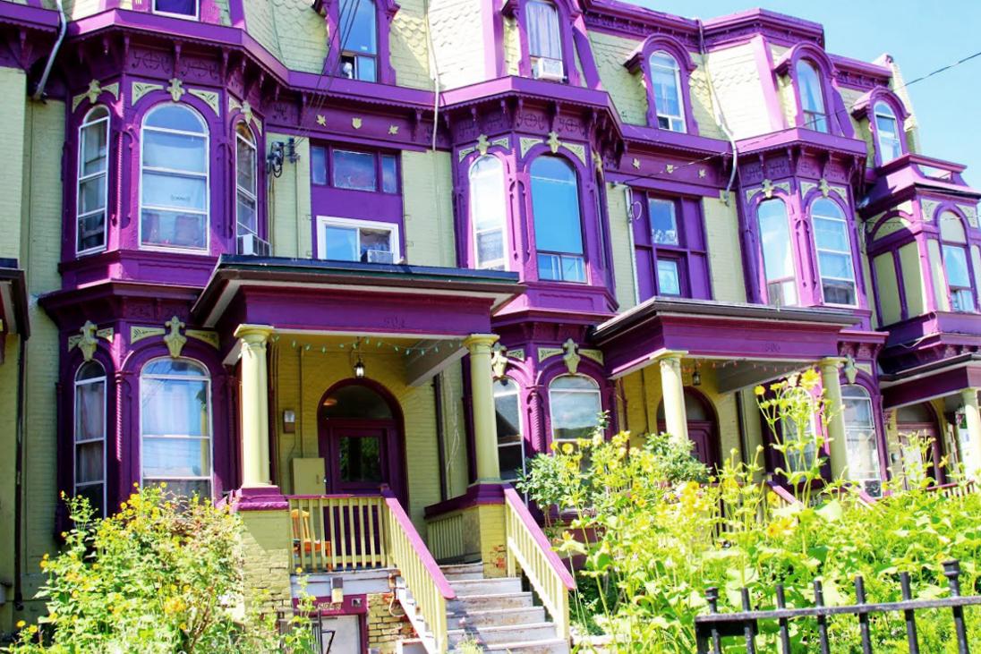 Cabbagetown-Colourful-Facade-Homes